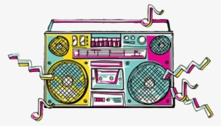 70s boom box clipart picture library stock Boombox PNG, Transparent Boombox PNG Image Free Download - PNGkey picture library stock