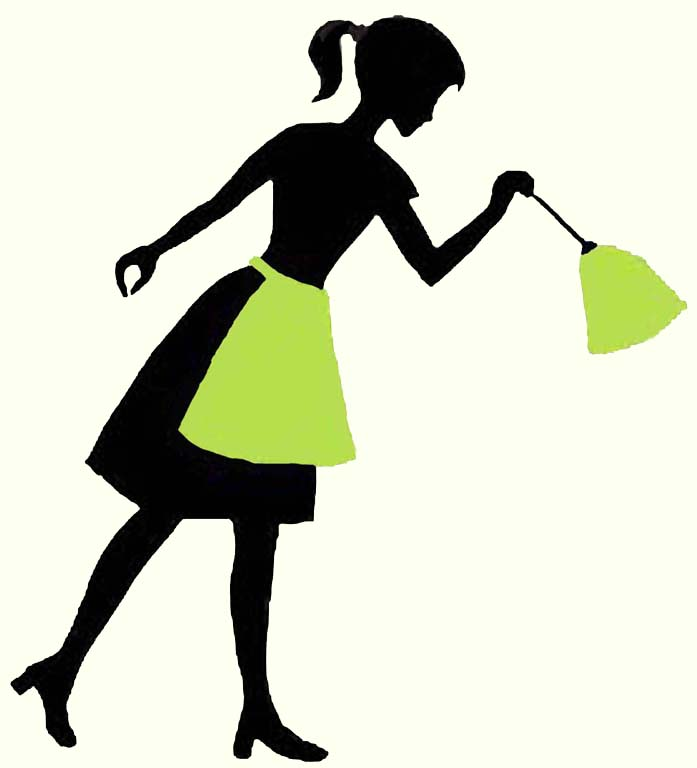 70s cleaning lady clipart svg library Free House Silhouette, Download Free Clip Art, Free Clip Art on ... svg library
