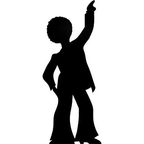 70s disco silhouette clipart vector free Disco Dancer Silhouette | ART - MAKE SOME! | Dancer silhouette ... vector free