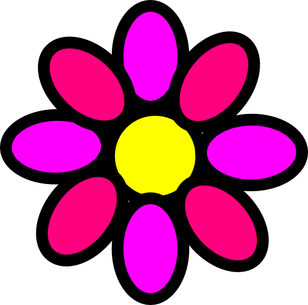 Flower power clipart png download Pink Flower Clipart flower power - Free Clipart on Dumielauxepices.net png download