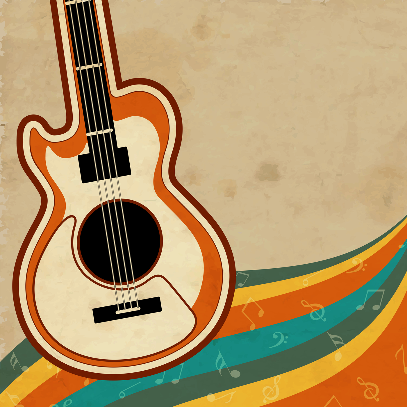 70s guitar clipart banner transparent library ROCKRADIO.COM | rock music for life banner transparent library