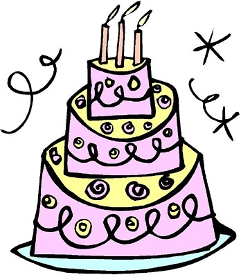 th office kid. 70th birthday cake clipart