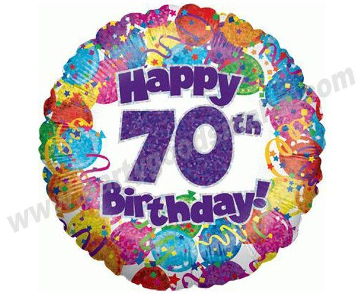 Happy 70th birthday clipart - ClipartFest clip black and white