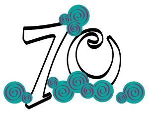 70th birthday cake clipart clipart free stock Happy 70th Birthday Clipart - Clipart Kid clipart free stock
