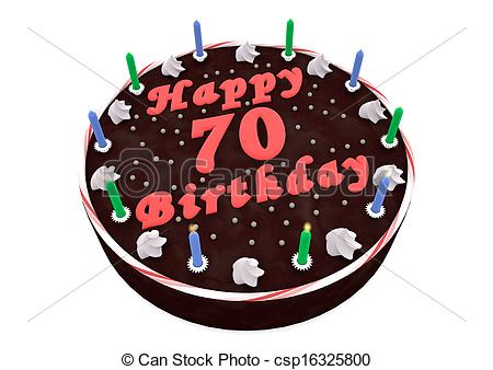 th clipartfest for. 70th birthday cake clipart