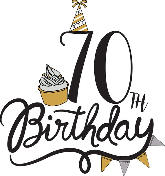 70th clipart svg freeuse download 70th birthday clipart 8 » Clipart Station svg freeuse download