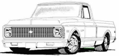 72 chevy pick up clipart black and white picture download looking for a picture of a truck - The 1947 - Present Chevrolet ... picture download