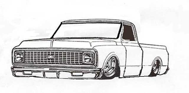 72 chevy pick up clipart black and white clip free stock looking for a picture of a truck - The 1947 - Present Chevrolet ... clip free stock