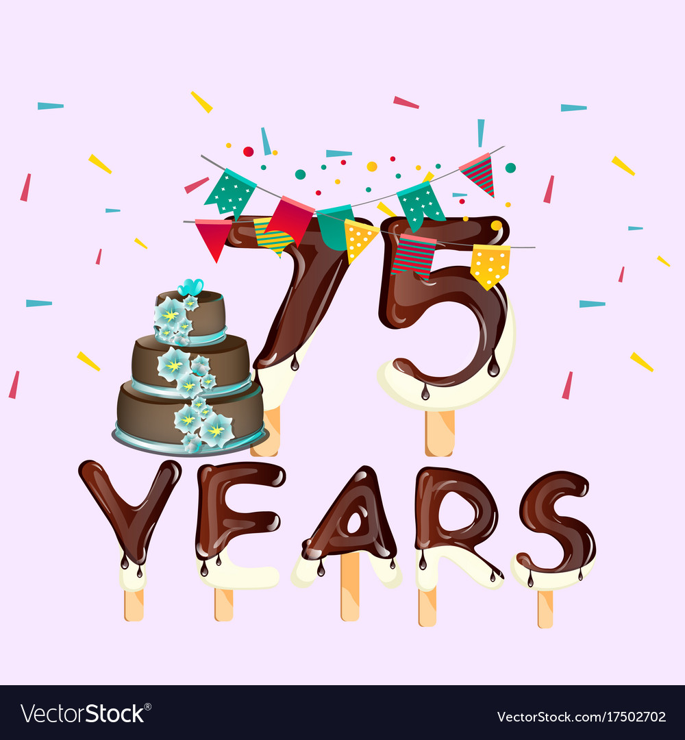 75 years free clipart clipart black and white 75 years happy birthday card clipart black and white