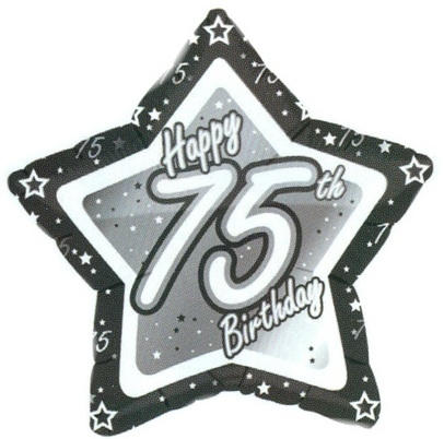 75th Birthday Clipart - Clip Art Library graphic
