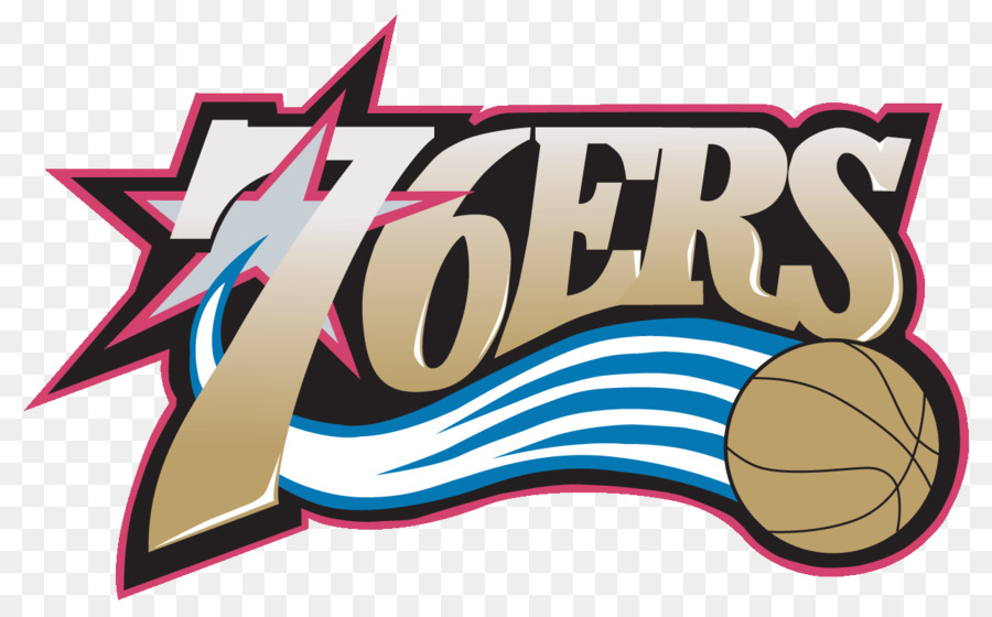 76ers clipart black and white library 76ers Logo clipart - Basketball, Text, Pink, transparent clip art black and white library