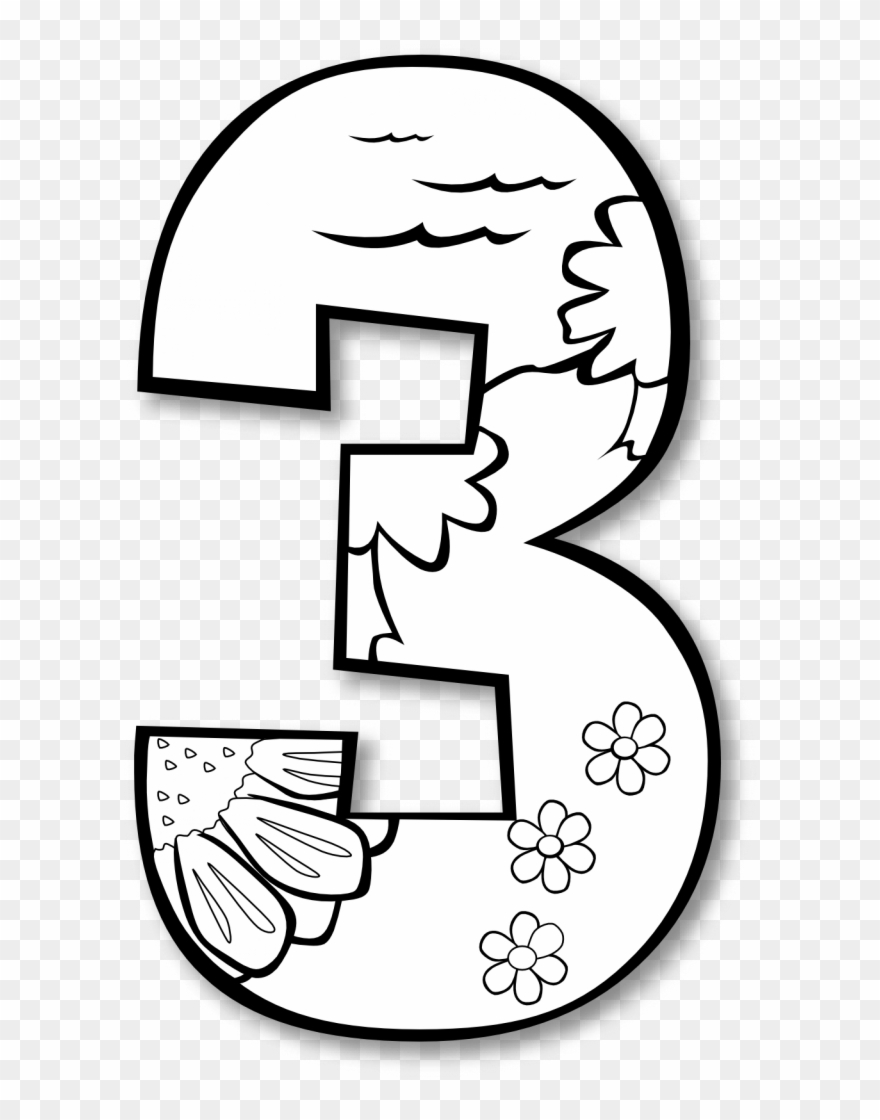 7th day of christmas black and white clipart freeuse library Creation Day 3 Number Ge 1 Black White Line Art Coloring - Days Of ... freeuse library