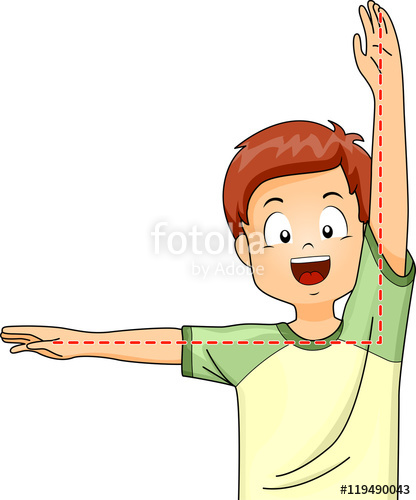 8 angle pose clipart png download Kid Boy Right Angle Pose\