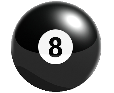 8 ball cliparts image black and white library 57+ 8 Ball Clipart | ClipartLook image black and white library