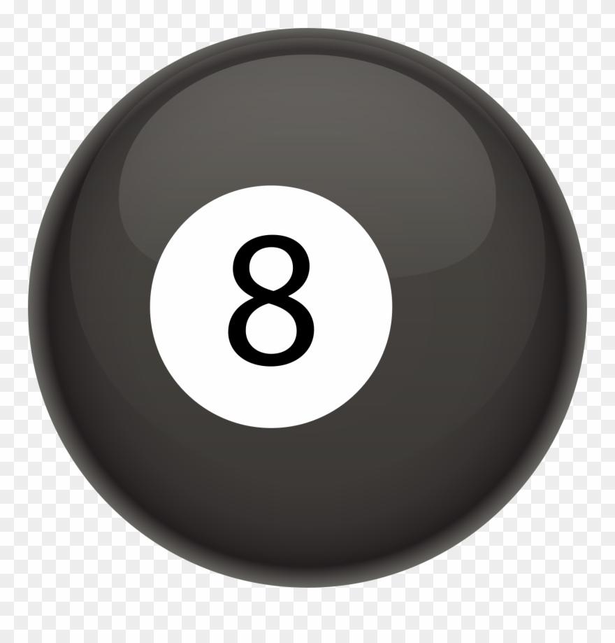 8 ball cliparts svg transparent library Billiard Ball Clipart Eight Ball - Public Domain Pool 8 Ball White ... svg transparent library