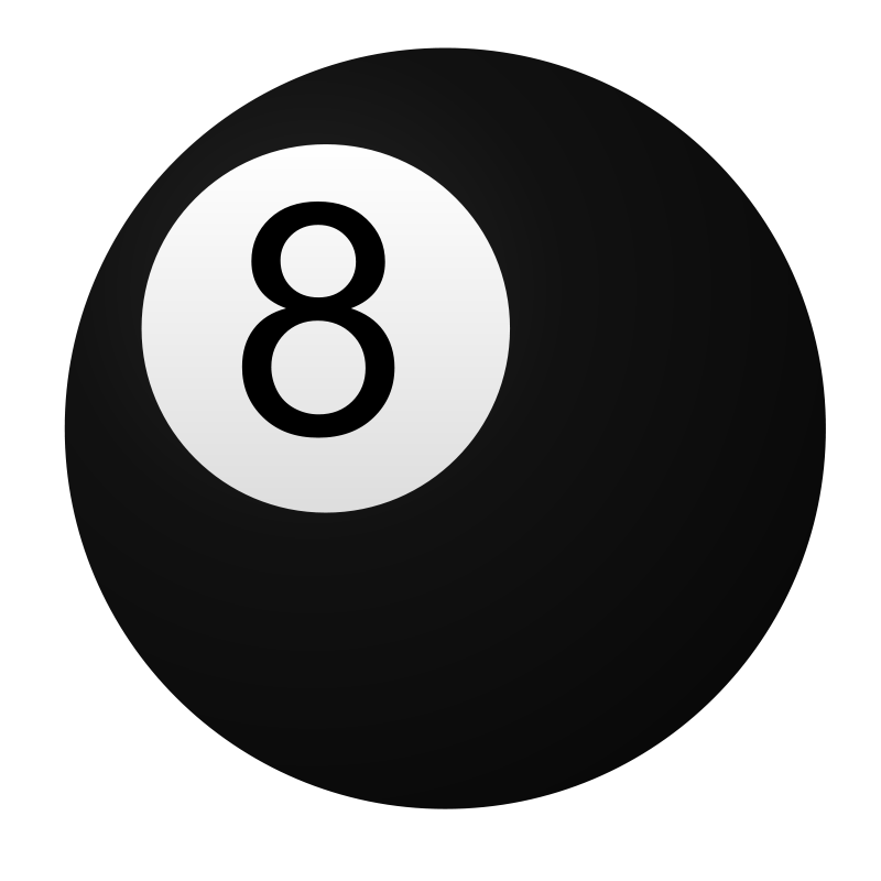 Eight ball clipart jpg royalty free Free Clipart: 8 ball | jhnri4 jpg royalty free