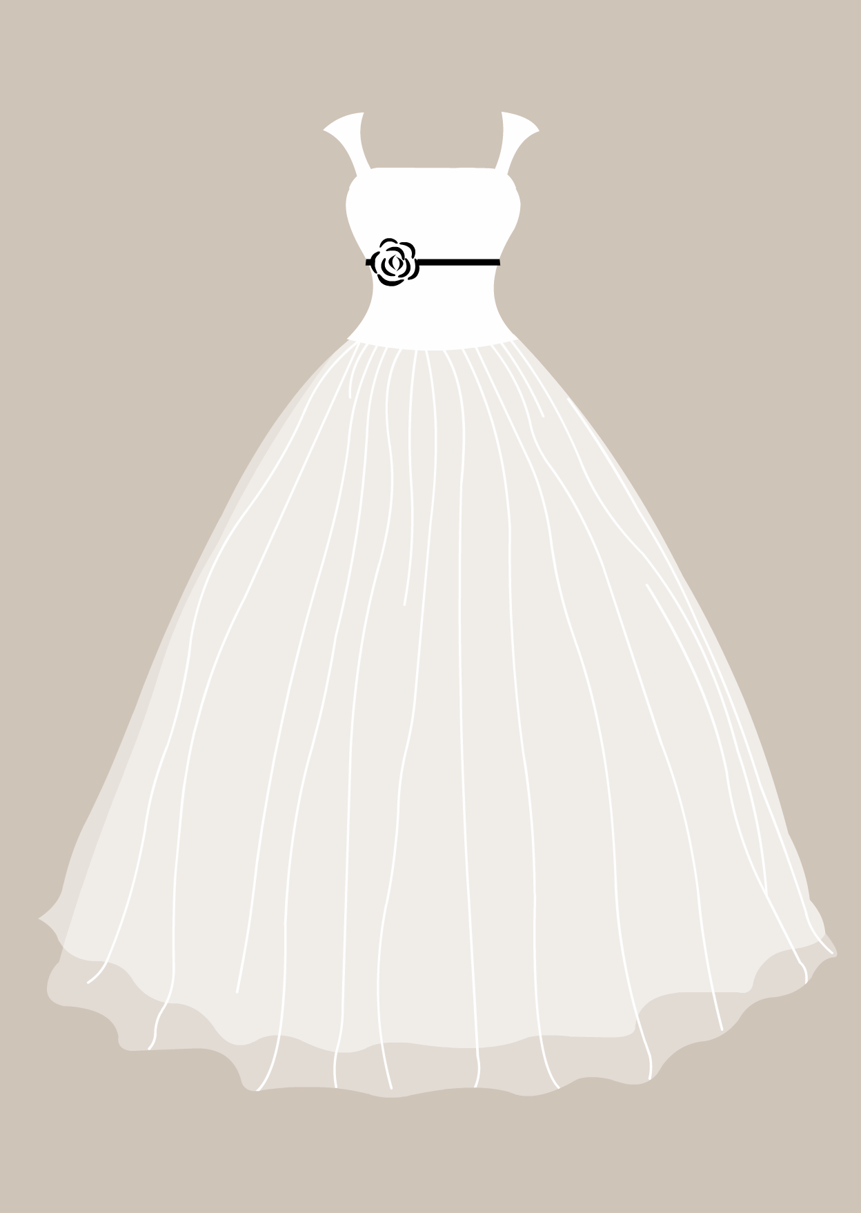 Bridesmaid dress clipart image freeuse wedding dress clipart - Google Search … | Quilling Templates ... image freeuse