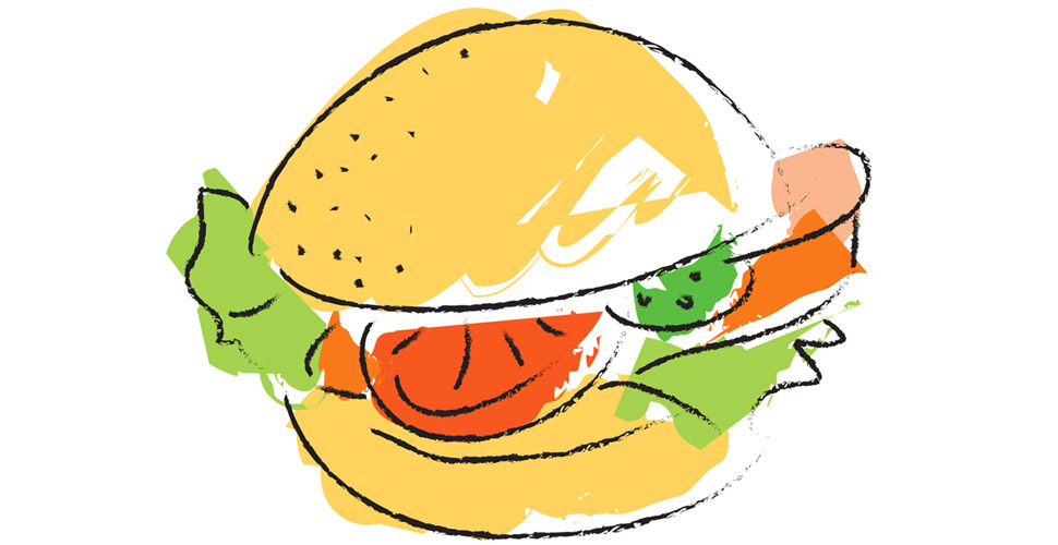 8 bit hamburgers clipart picture black and white stock How to Make 3 of the Best Burgers in NYC • Gear Patrol picture black and white stock