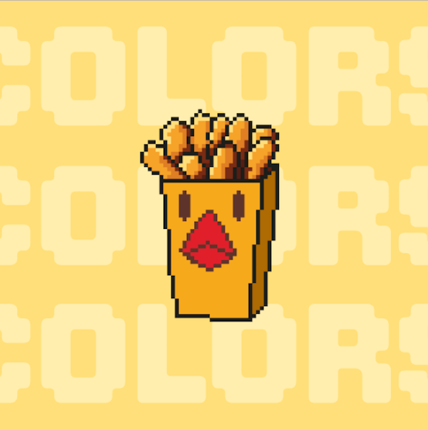 8 bit hamburgers clipart clipart freeuse Burger King Revives \'Chicken Fries\' After 12 Years In Retro, 8-Bit ... clipart freeuse
