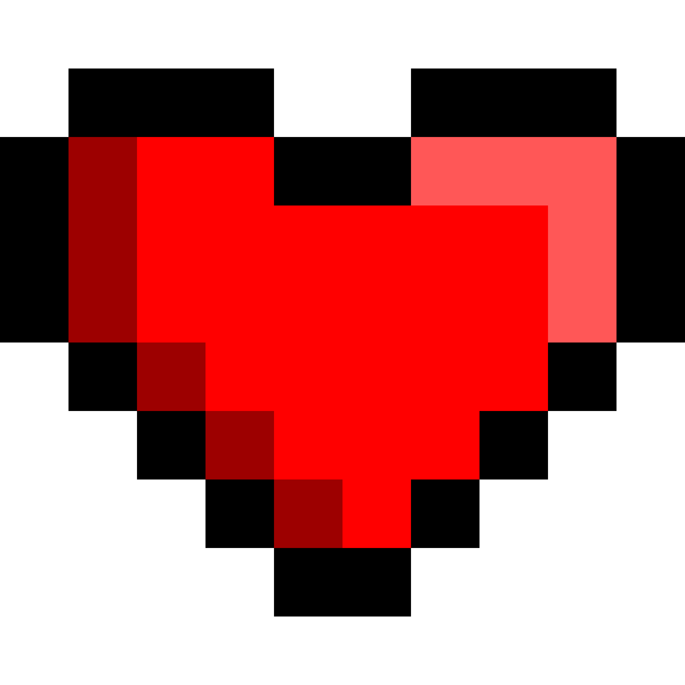 8 bit heart clipart picture transparent stock Clipart - 8Bit Heart picture transparent stock