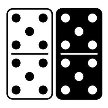 Clipart dominoes