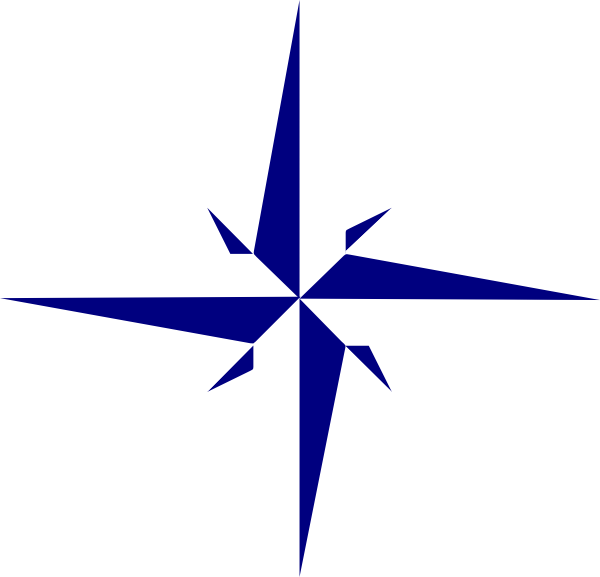 8 point star clipart clip art free Gray Compass Star 2 Clip Art at Clker.com - vector clip art online ... clip art free