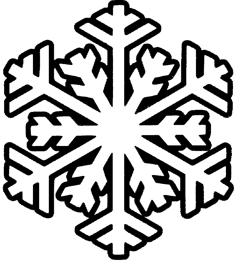 I have download A Nice Big Snowflake Coloring Page | printables ... graphic freeuse download