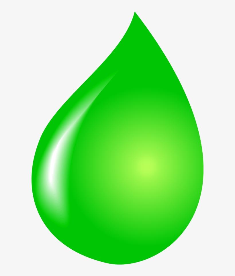 Cartoon Water Drop Clipart Kid - Green Water Drop Vector - Free ... image stock