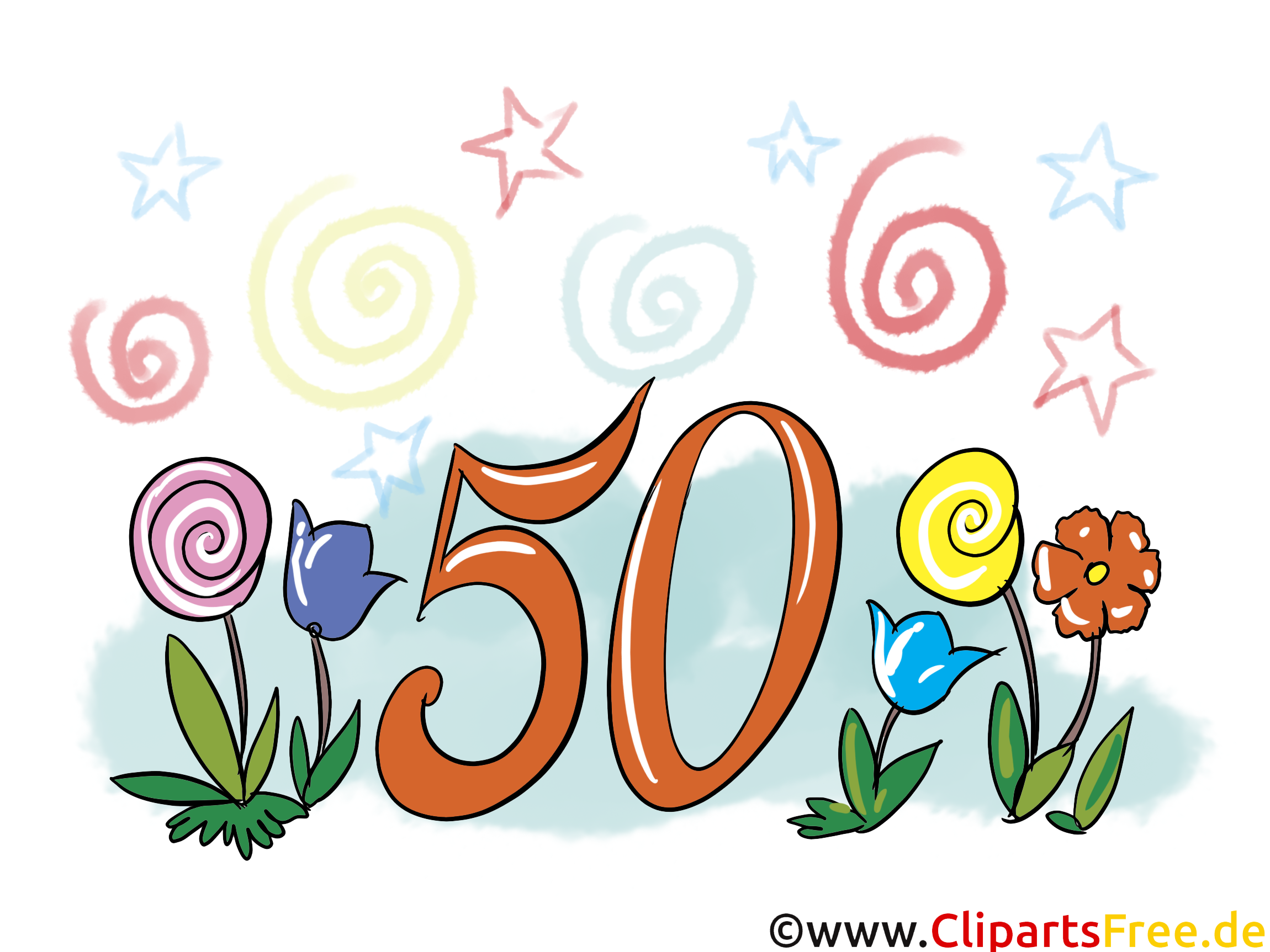 50 ans clipart - ClipartFest graphic transparent stock