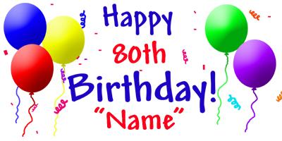 80 birthday clipart image library Free Premium Cliparts - ClipartFest image library