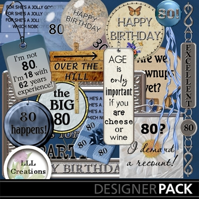 Free th clip art. 80 birthday clipart
