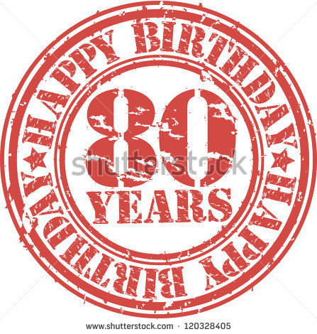 80 birthday clipart png freeuse library 80th Birthday Stock Images, Royalty-Free Images & Vectors ... png freeuse library