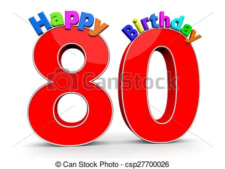 Number illustrations and royalty. 80 clipart