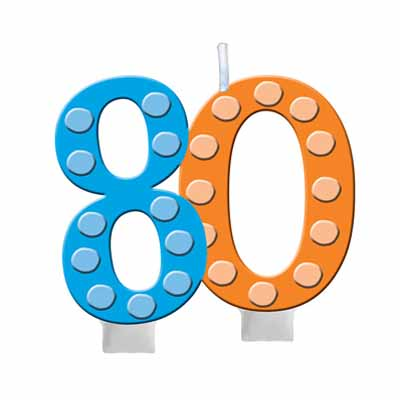 th birthday clip. 80 clipart