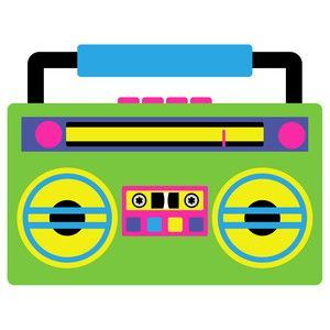 80 s boombox clipart graphic transparent download 80\'s pop - boombox | UNDER CONSTRUCTION in 2019 | Silhouette design ... graphic transparent download