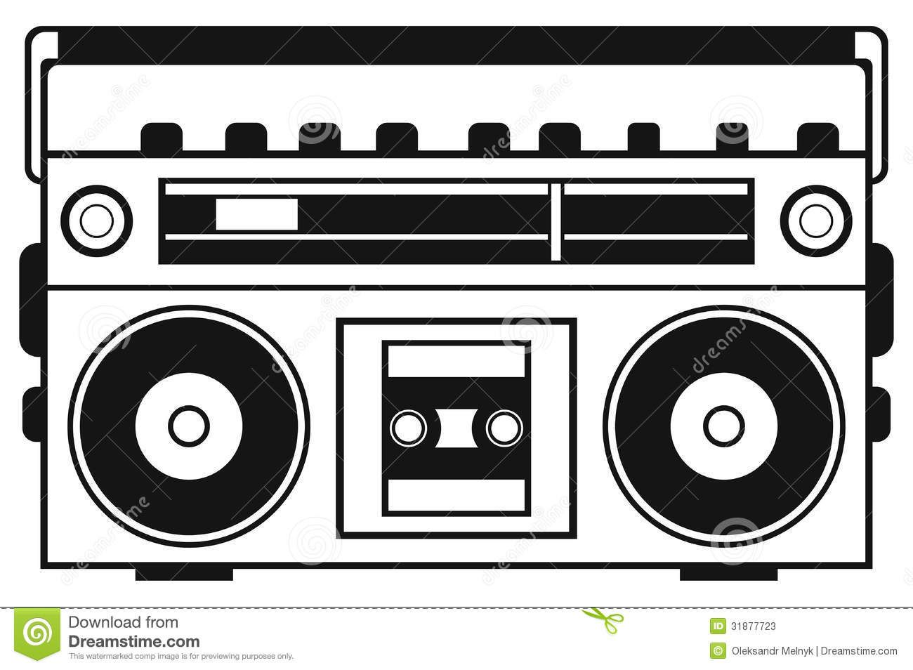 80 s boombox clipart graphic free stock Boombox Clipart Repinlikeview Pic | PTA in 2019 | Boombox, Drawings, Art graphic free stock
