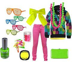 80 s dress up days clipart clip stock 80s Neon Fashion | Hair styling | 80s fashion, Fashion, Neon outfits clip stock