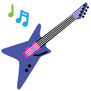 80 s electric guitar clipart clip free library Silhouette Design Store - Search Designs : paige evans guitar clip free library