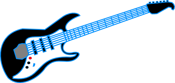Free clipart of a rock and roll guitar. Download best on clipartmag