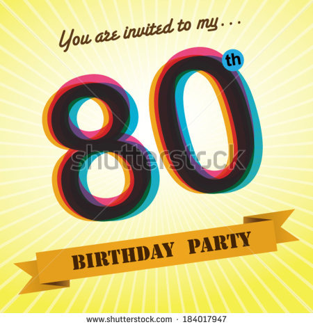 80 year old clipart.  stock vectors images
