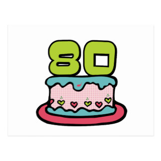 birthday cake gifts. 80 year old clipart