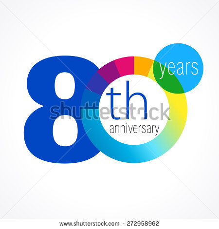 years stock vectors. 80 year old clipart