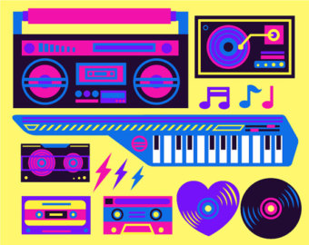 s clipartfest eighties. 80s boombox clipart