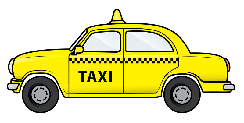 Car ride clipart picture transparent Pix For > New York City Taxi Clip Art | Misc. Photos | Pinterest ... picture transparent