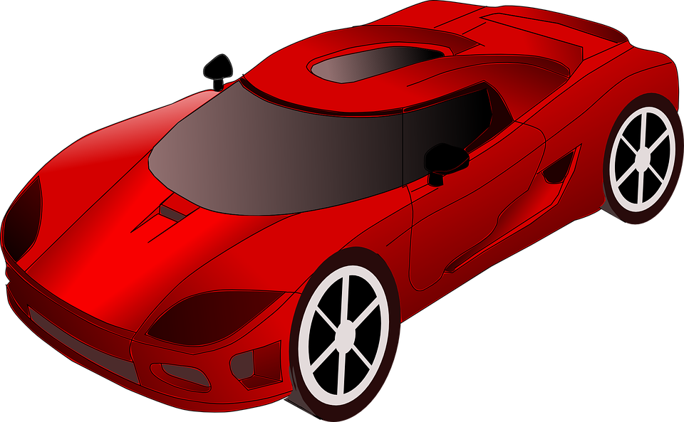 Orange race car clipart clipart free download Racing Car Cartoon Group (63+) clipart free download