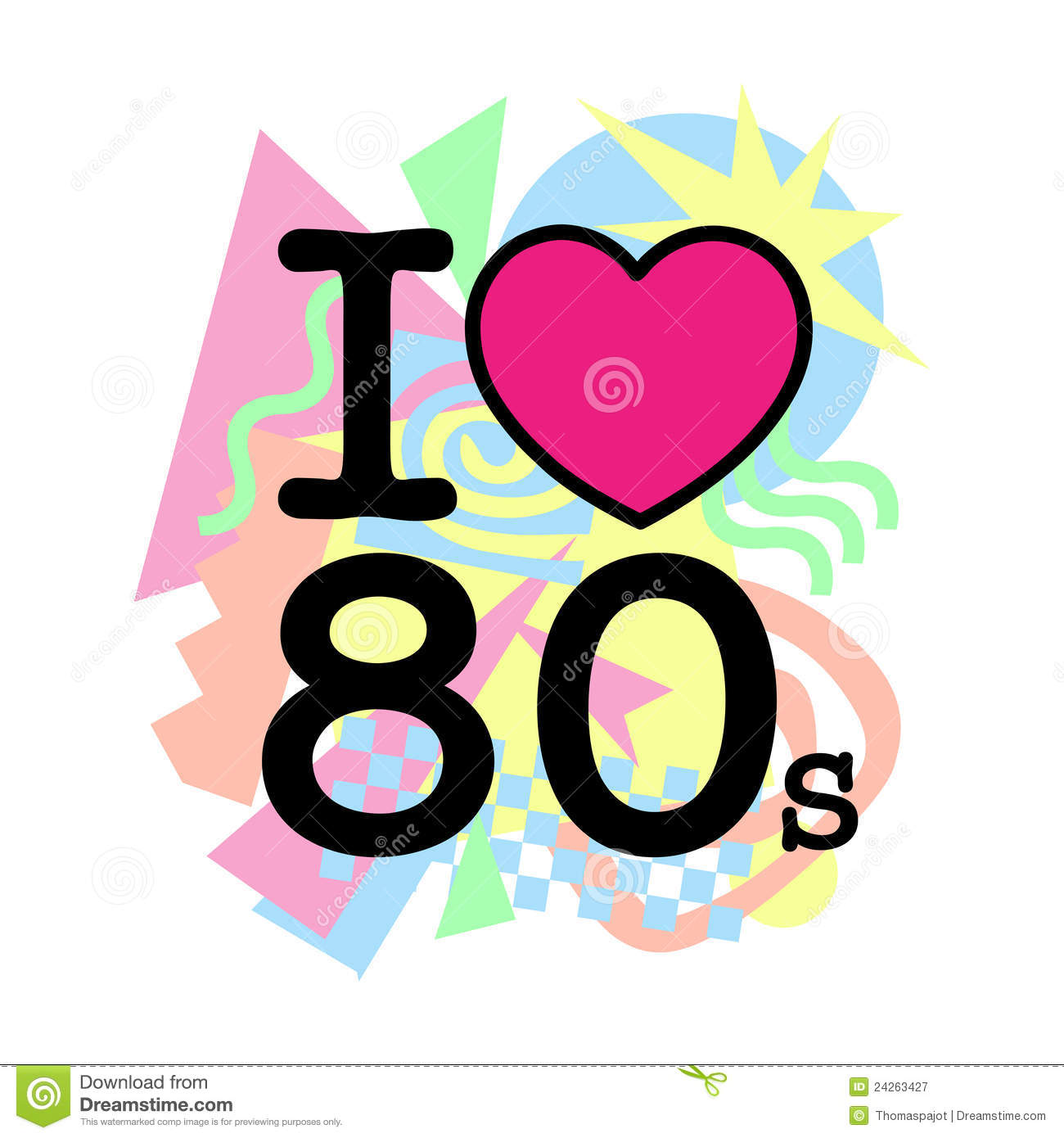 80s Stock Illustrations – 7,800 80s Stock Illustrations, Vectors ... banner royalty free library