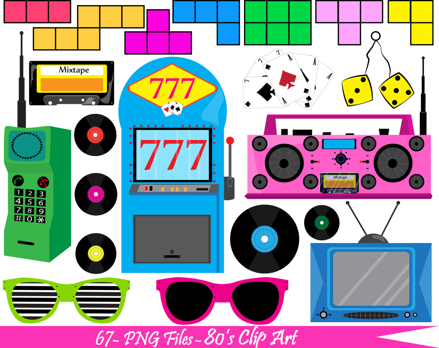 80s clipart picture freeuse library 80s clip art - ClipartFest picture freeuse library