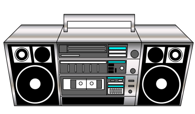 80s clipart images vector royalty free library 80s boombox clipart - ClipartFest vector royalty free library