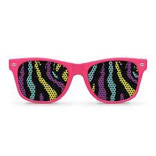 80s heartshutter glasses clipart clip black and white library Resultado de imagen de 80\'s   Party (Neon & disco)   Wayfarer ... clip black and white library