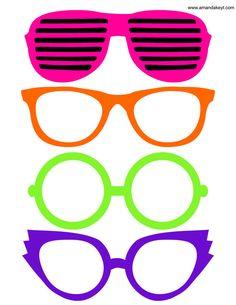 80s heartshutter glasses clipart jpg freeuse download Free Glow Glasses Cliparts, Download Free Clip Art, Free Clip Art on ... jpg freeuse download